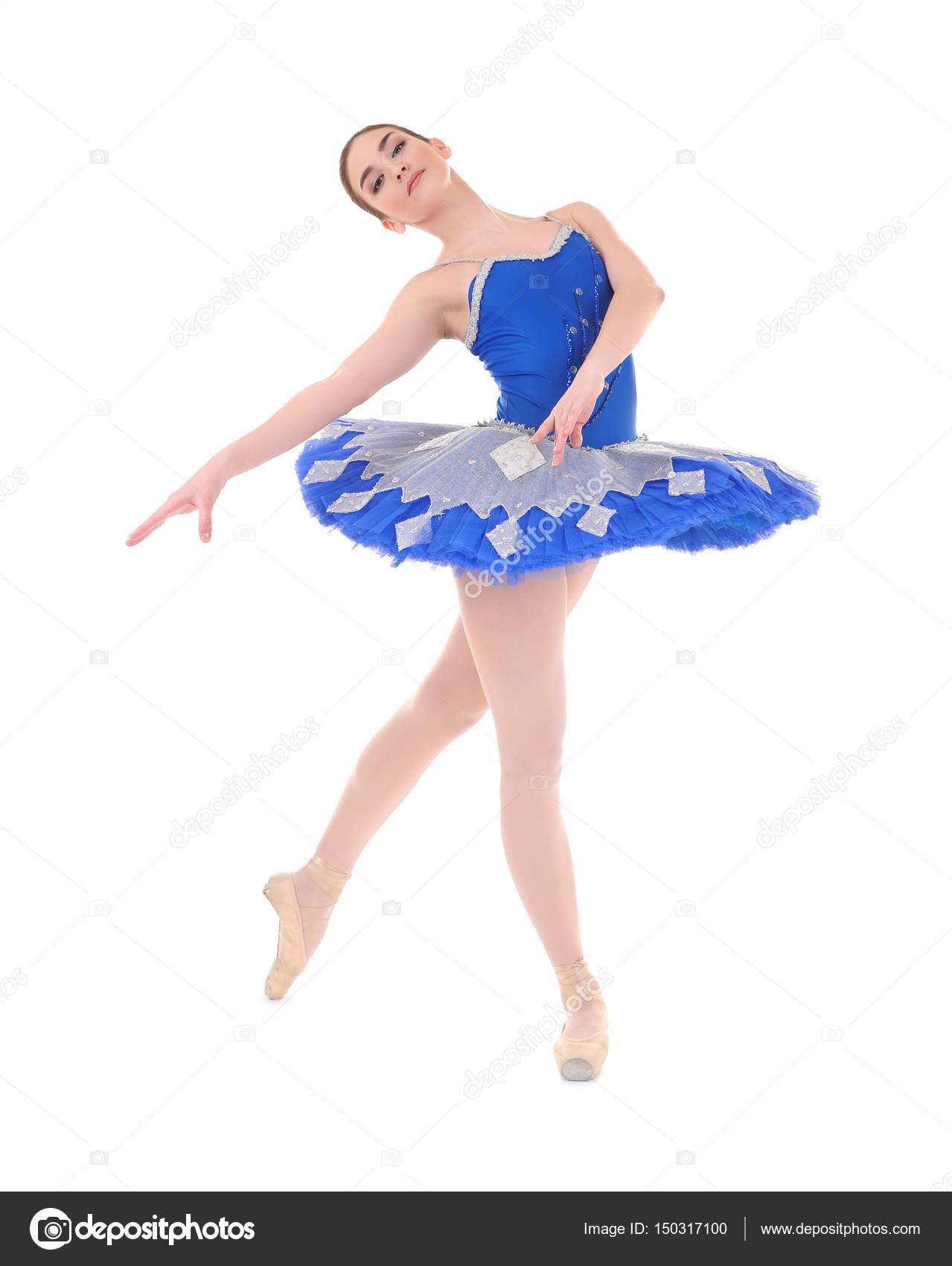 e0e748c6febf Unga vackra Ballerina dans — Stockfotografi © belchonock #150317100