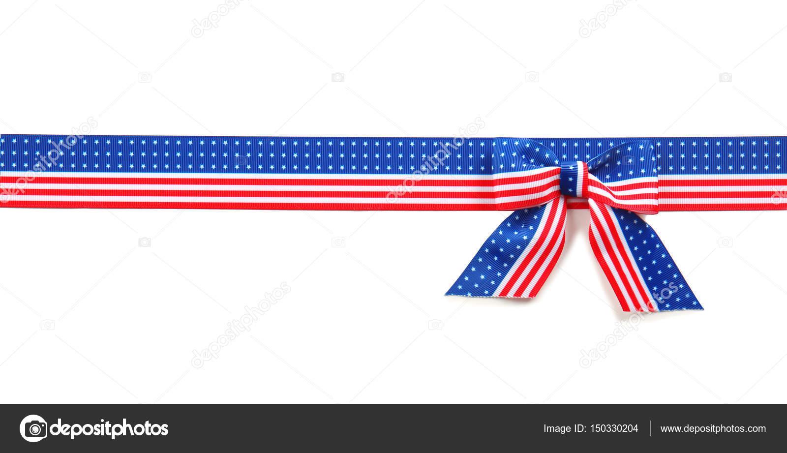 La cinta con la bandera de Estados Unidos — Fotos de Stock ...