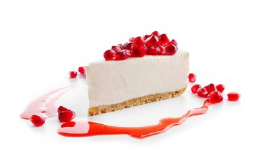 fresh delicious cheesecake