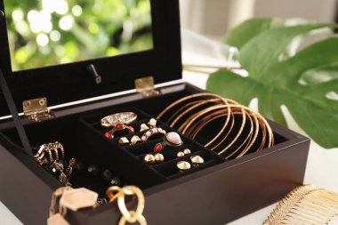 bijouterie in jewelry box
