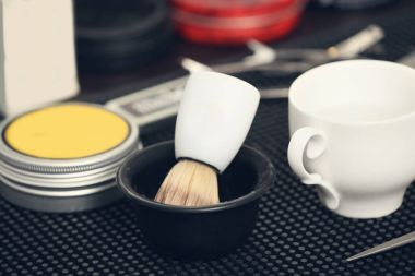 Shaving brush and tools