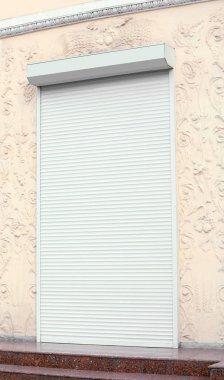 Roller shutters, closeup