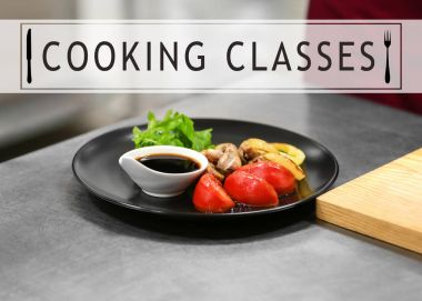 Cooking classes concept