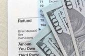 Tax refund document