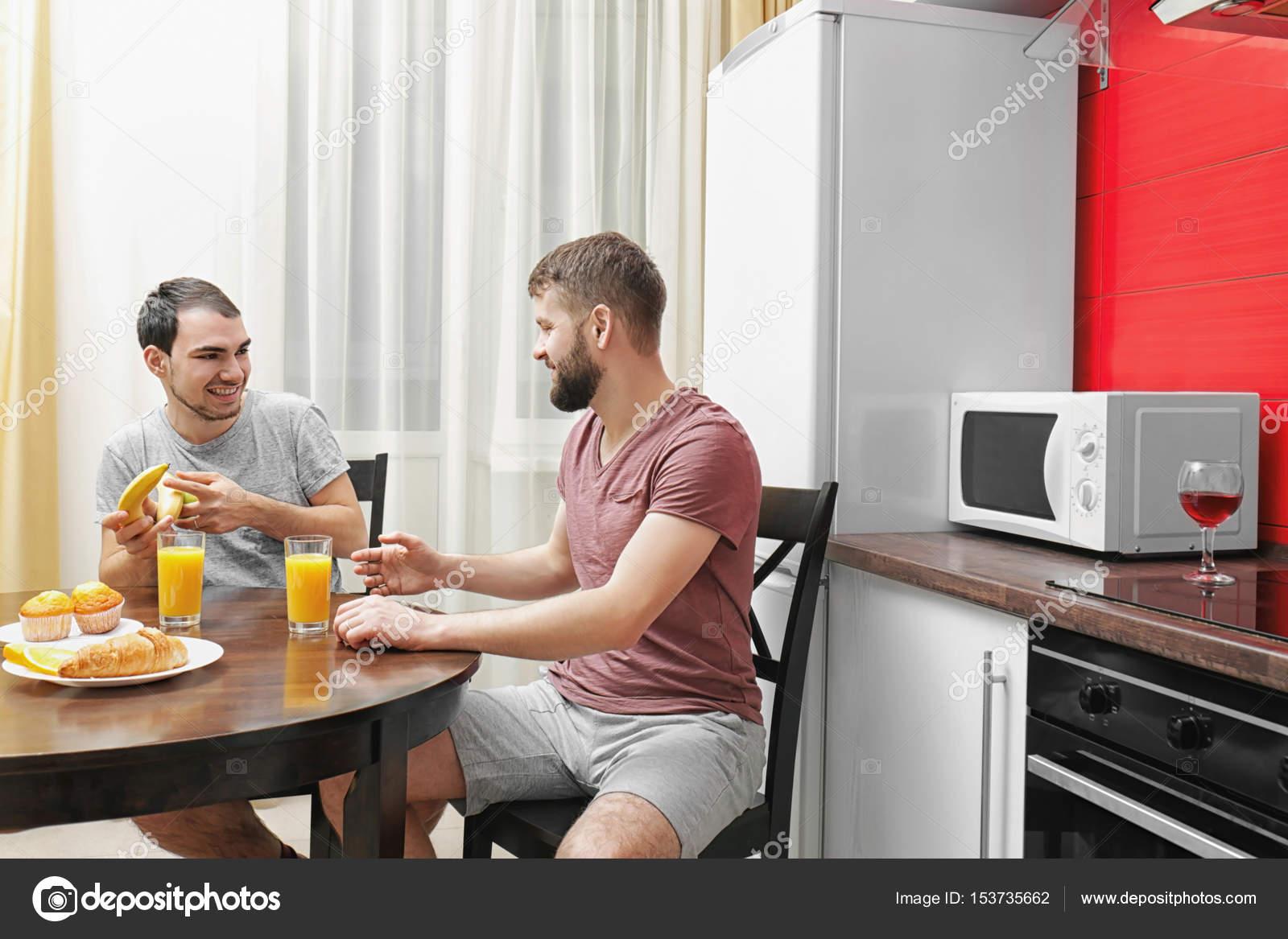 Gay kuchyně sex