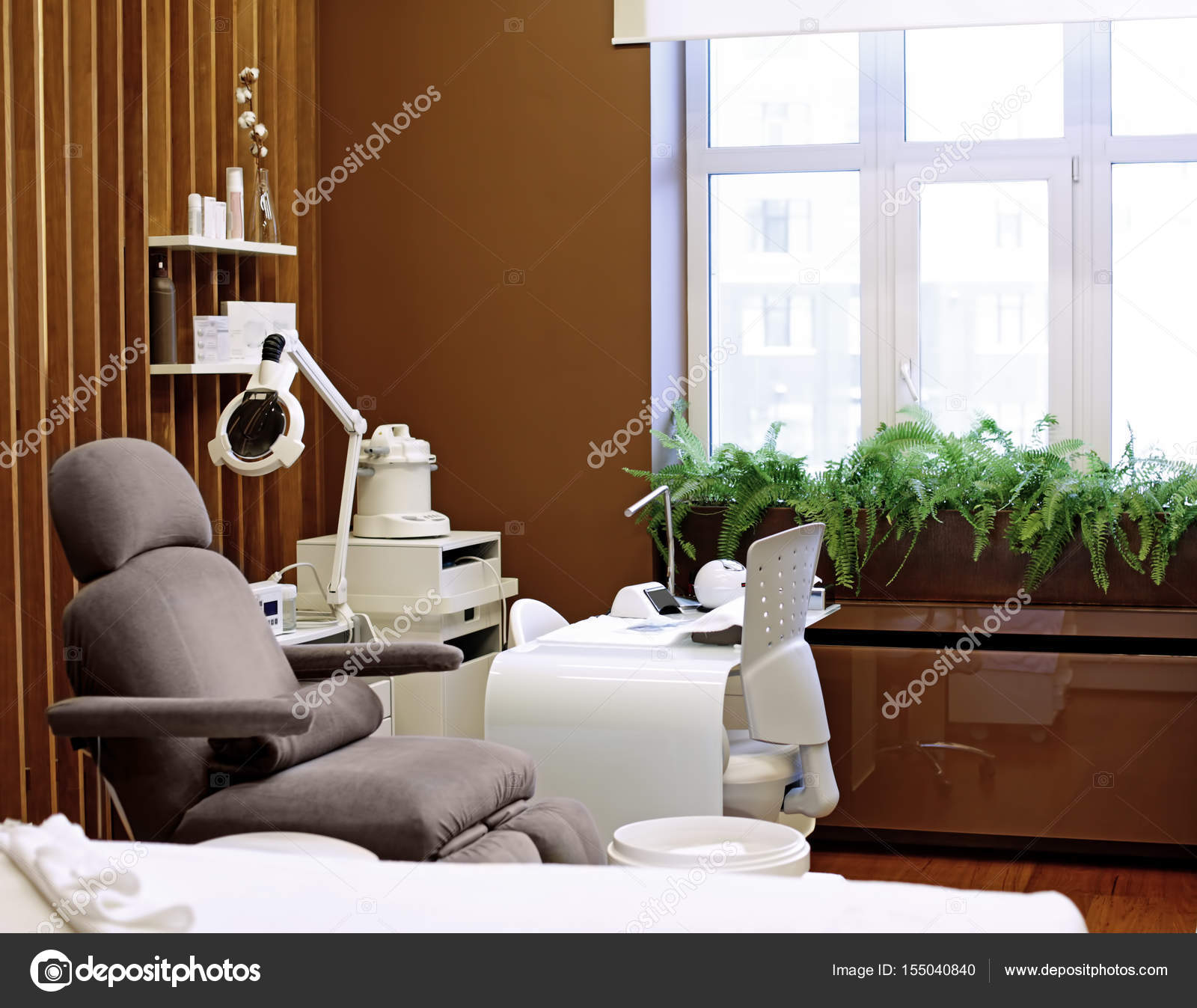 moderne Wellness-salon — Stockfoto © belchonock #155040840
