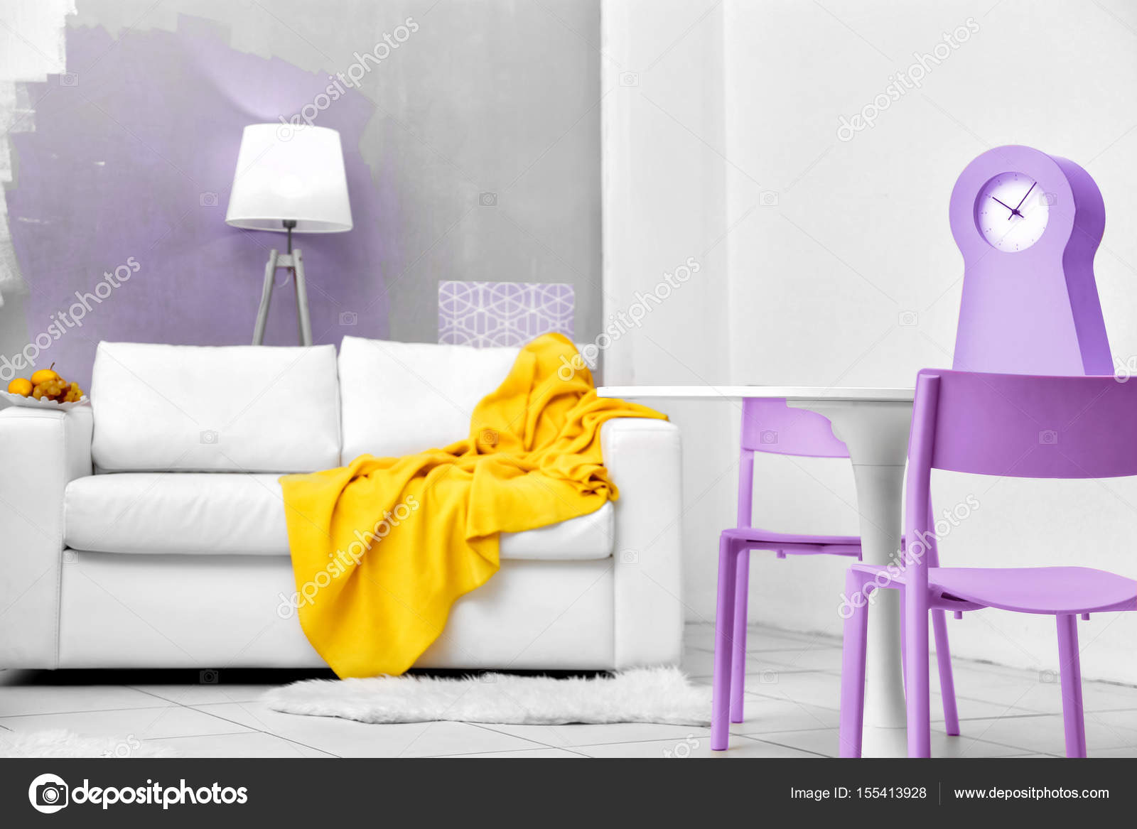 Excellent Lilac Wall Color Pictures Inspiration - The Wall Art ...