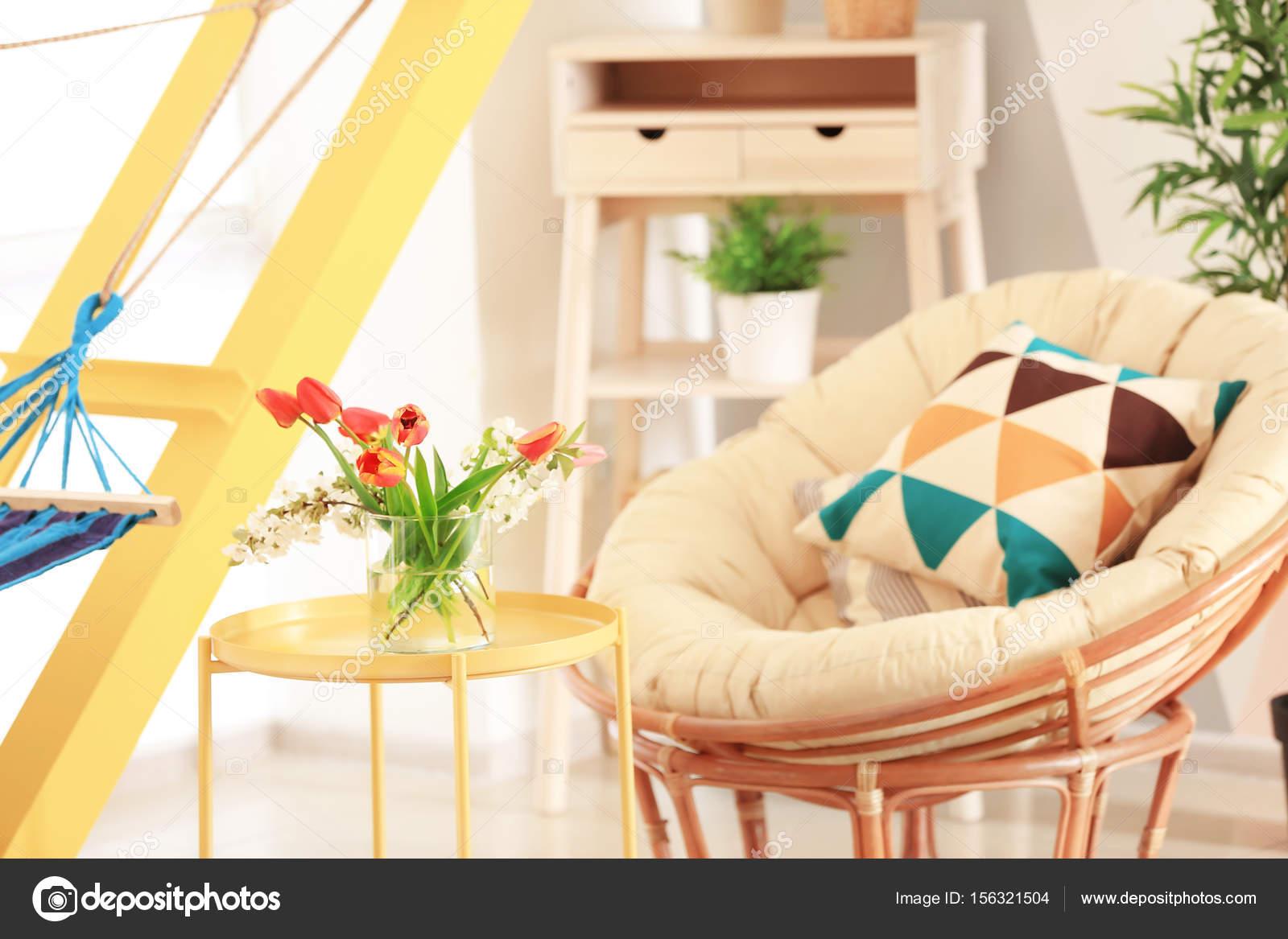 moderne Veranda Interieur — Stockfoto © belchonock #156321504