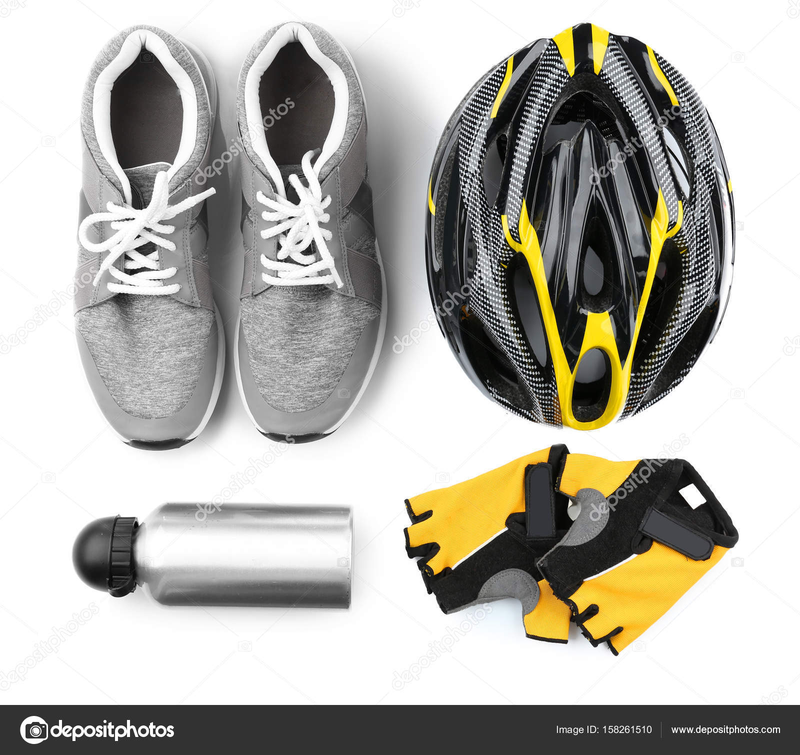 fahrradzubeh r set stockfoto belchonock 158261510. Black Bedroom Furniture Sets. Home Design Ideas