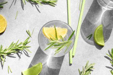 fresh tasty lemonade