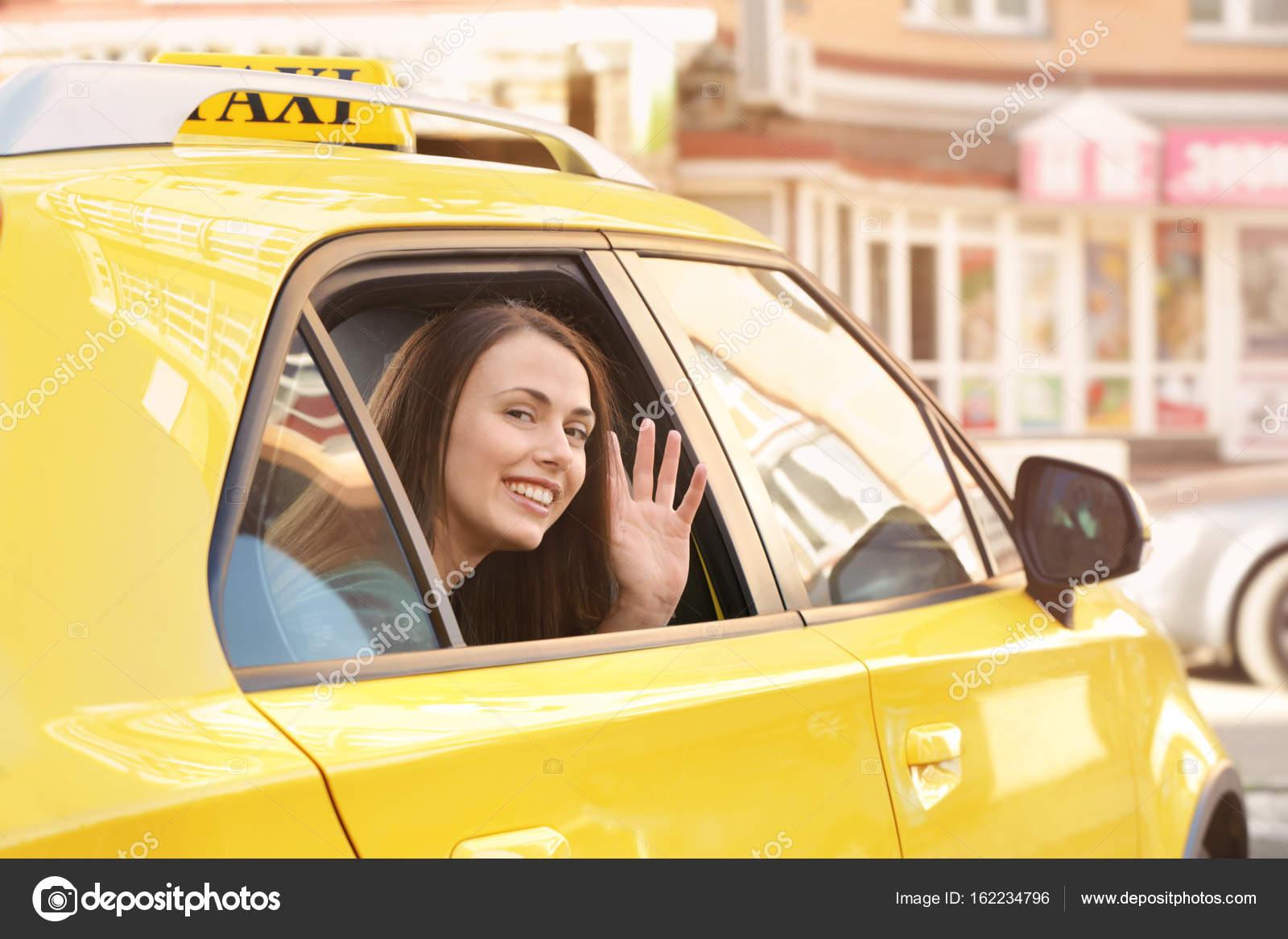 прикатал телку в такси - 11