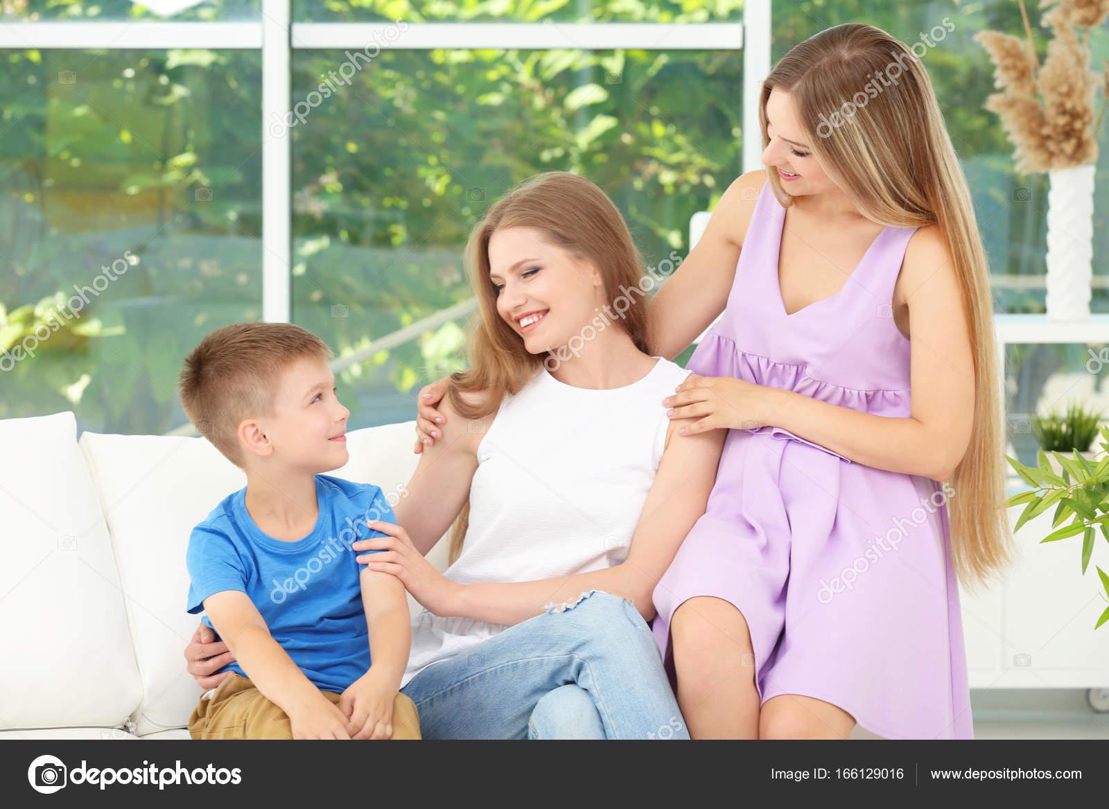 moeder zoon lesbisch