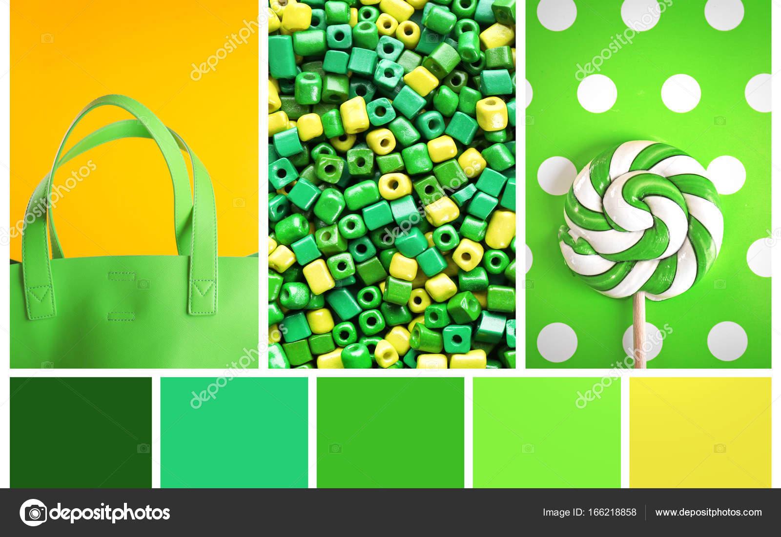 Paleta de color verde foto de stock belchonock 166218858 - Colores verdes para paredes ...