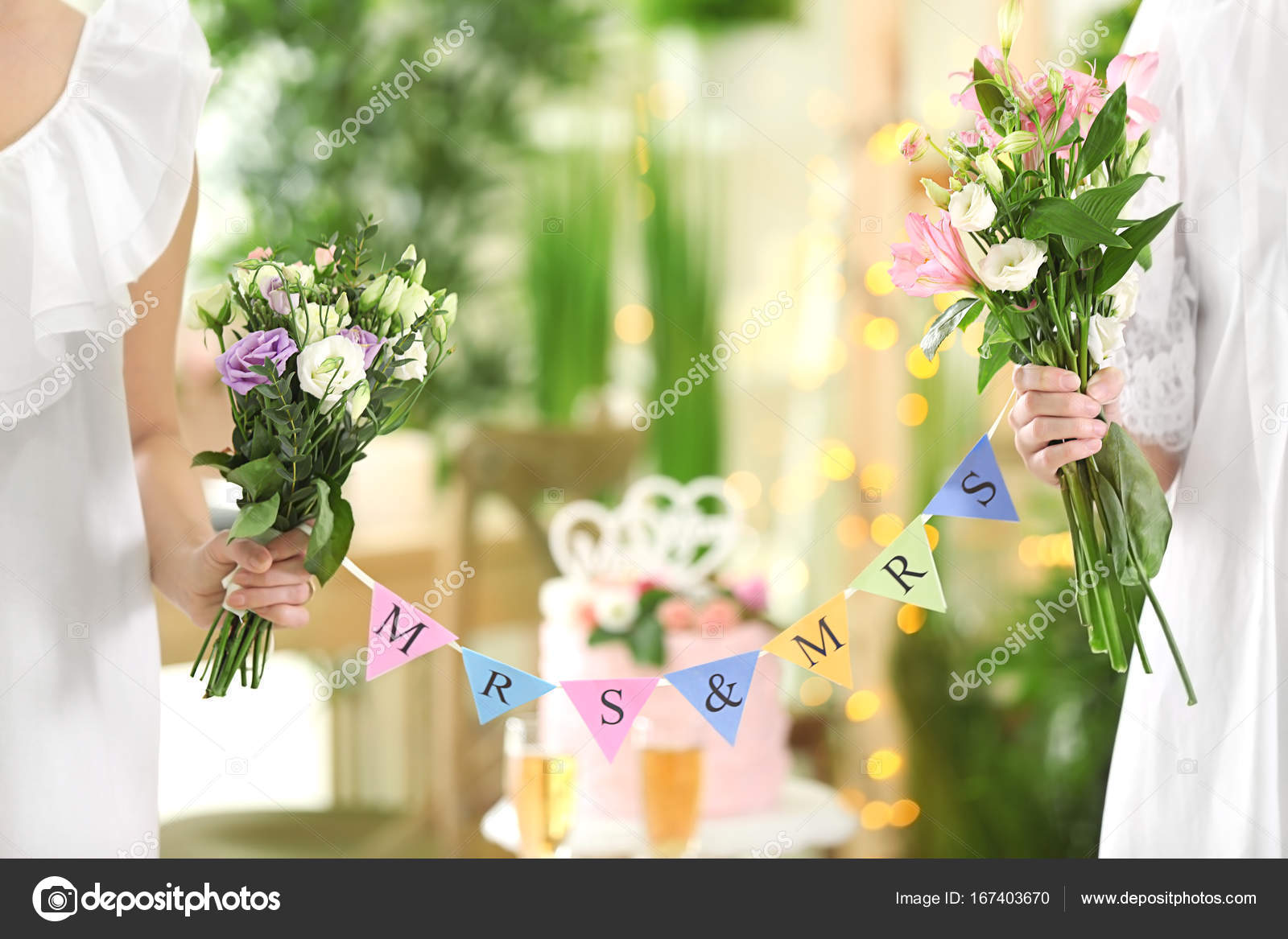 Частного фото свадьба лесбиянок