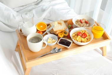 Delicious sweet breakfast