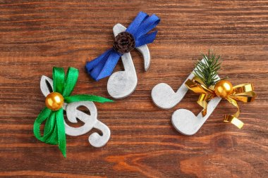 Christmas music concept