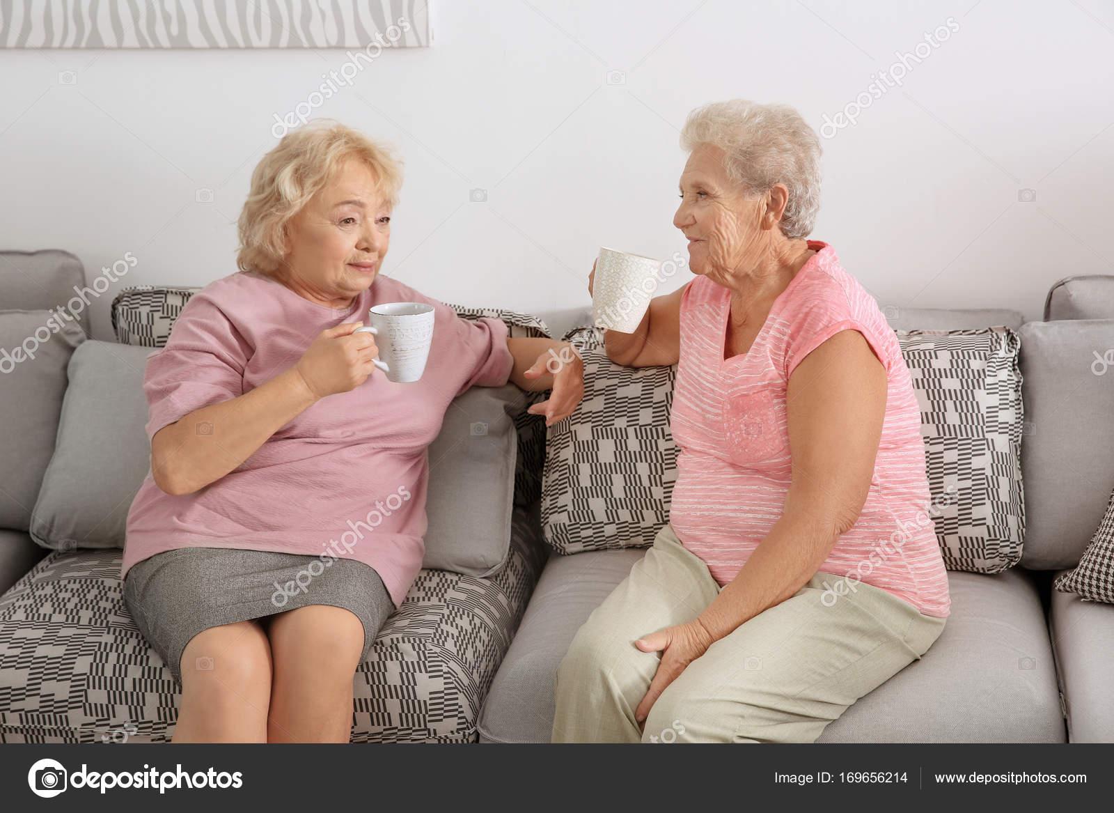 Treffen mit alterer frau