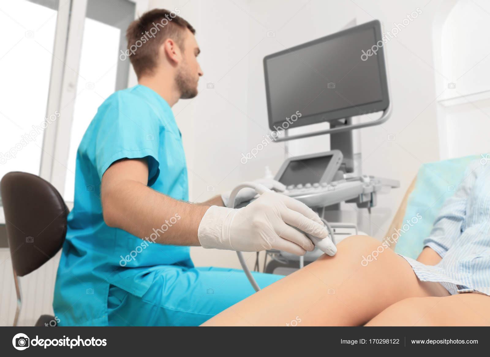Эхоскопия коленного сустава видео что делать если болит сустав кисти