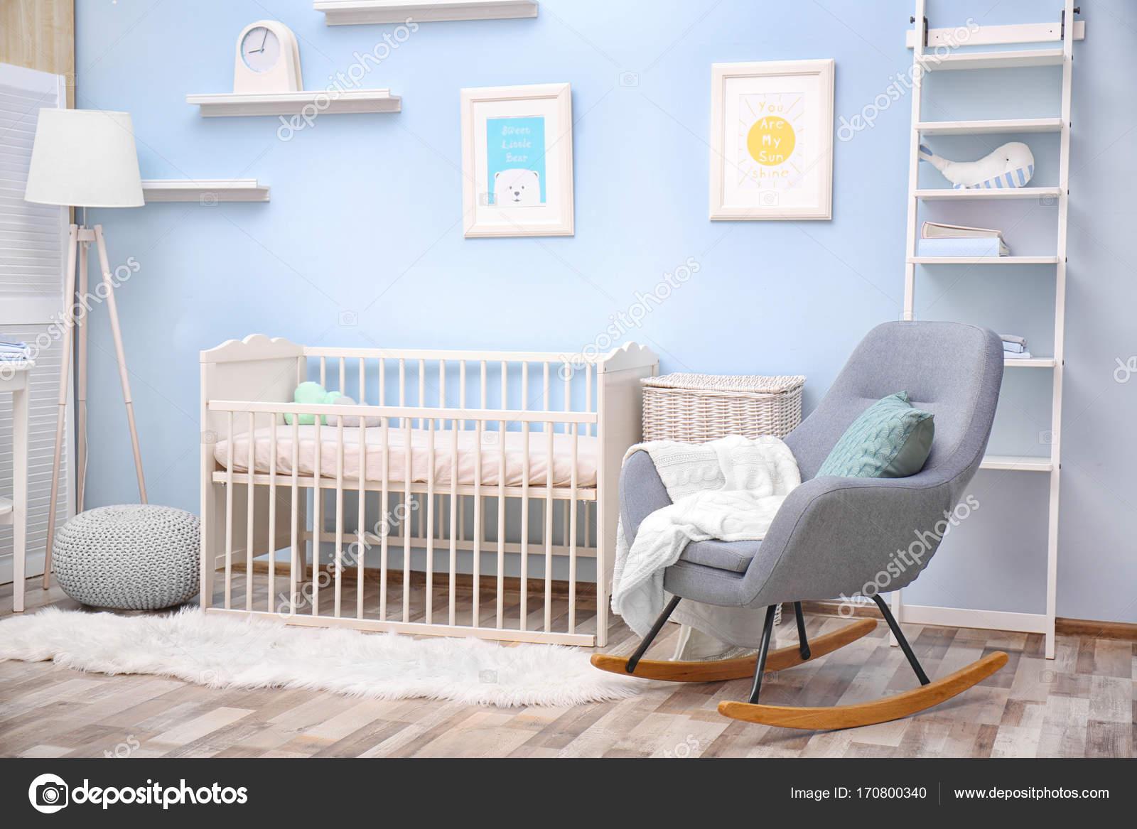 Baby Schlafzimmer design — Stockfoto © belchonock #170800340