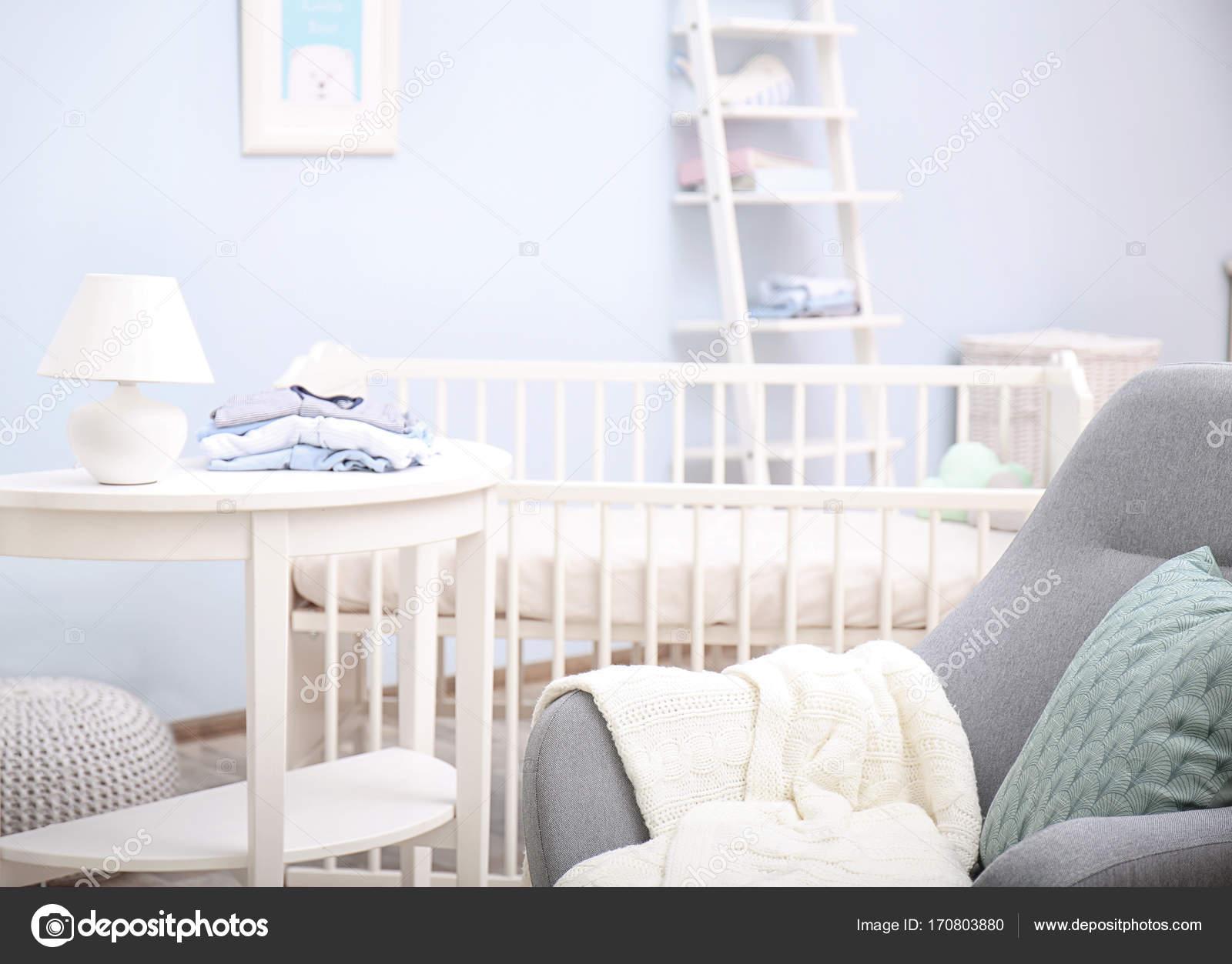 Baby Schlafzimmer design — Stockfoto © belchonock #170803880