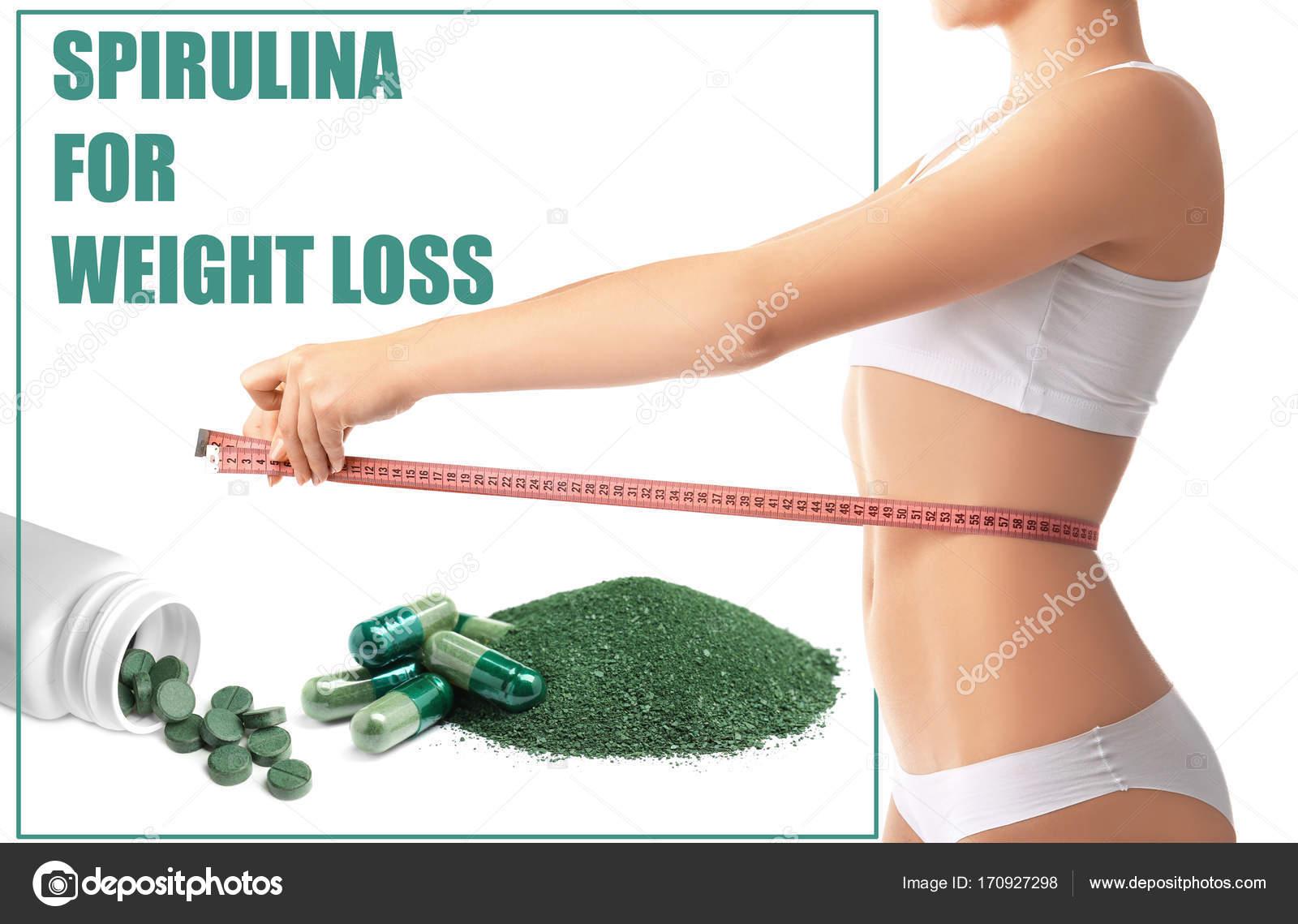 pillola per la perdita di peso di spirulina