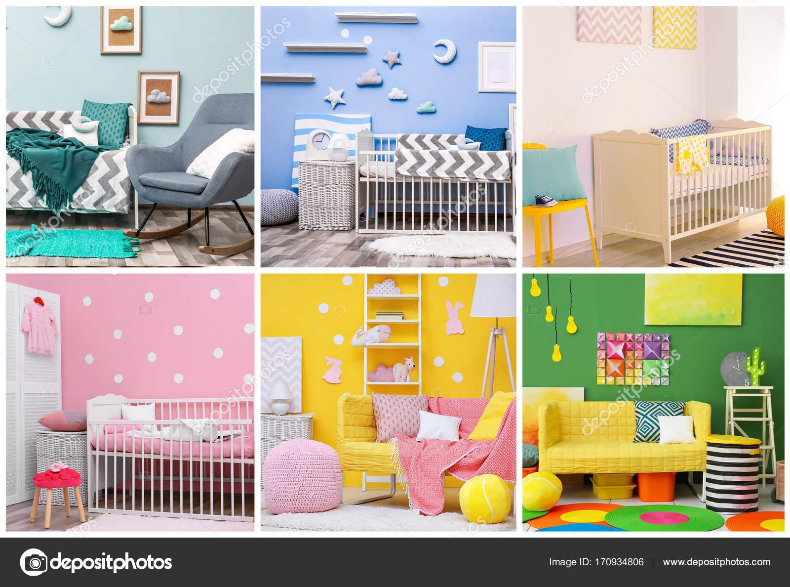 Innenarchitektur Collage Ideen Beste Wahl Mit Für Kinder Innenraum — Foto Von