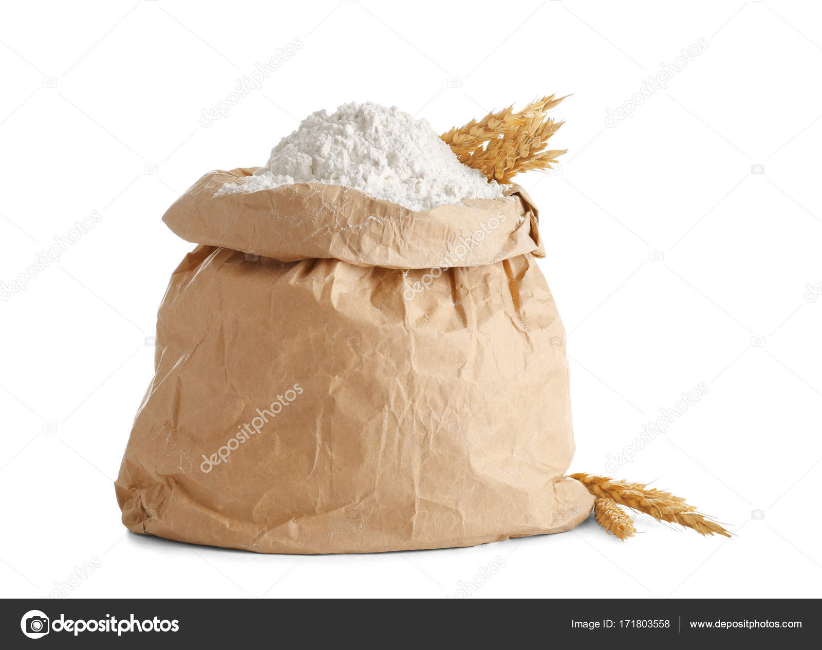 Paper Bag Of Flour Stock Photo C Belchonock 171803558