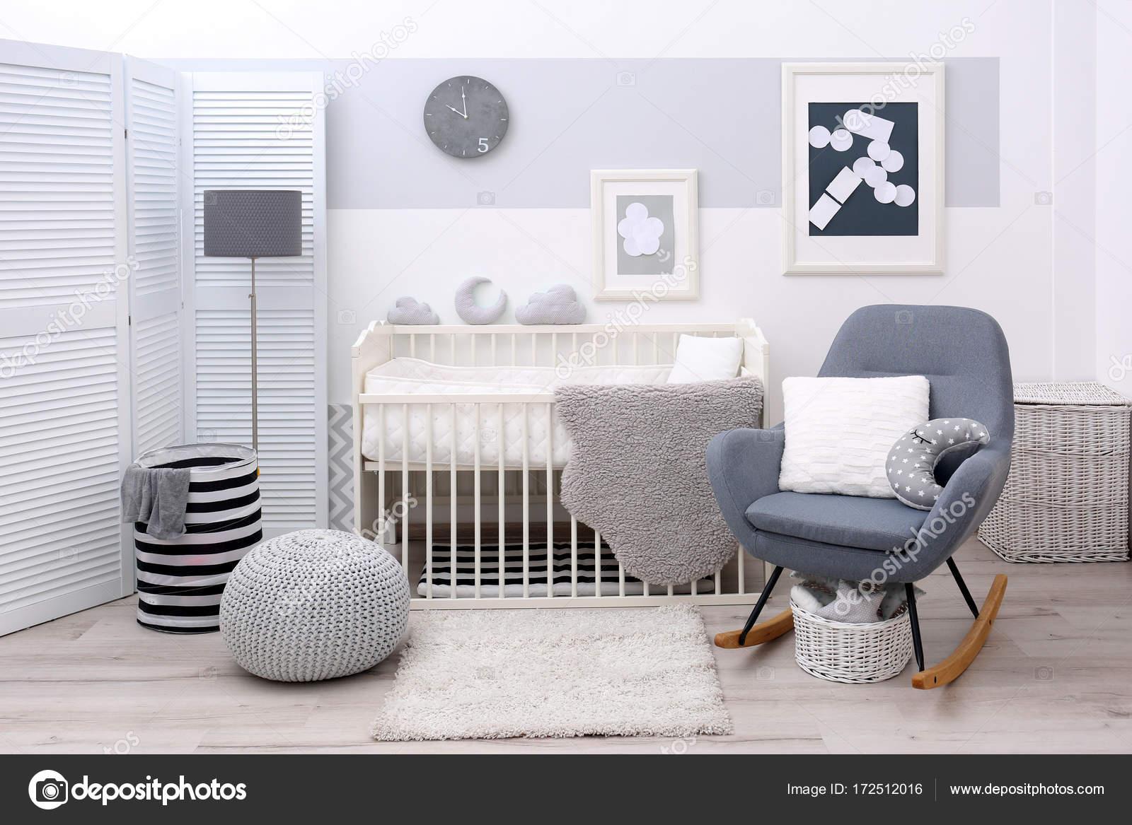 Baby Schlafzimmer design — Stockfoto © belchonock #172512016
