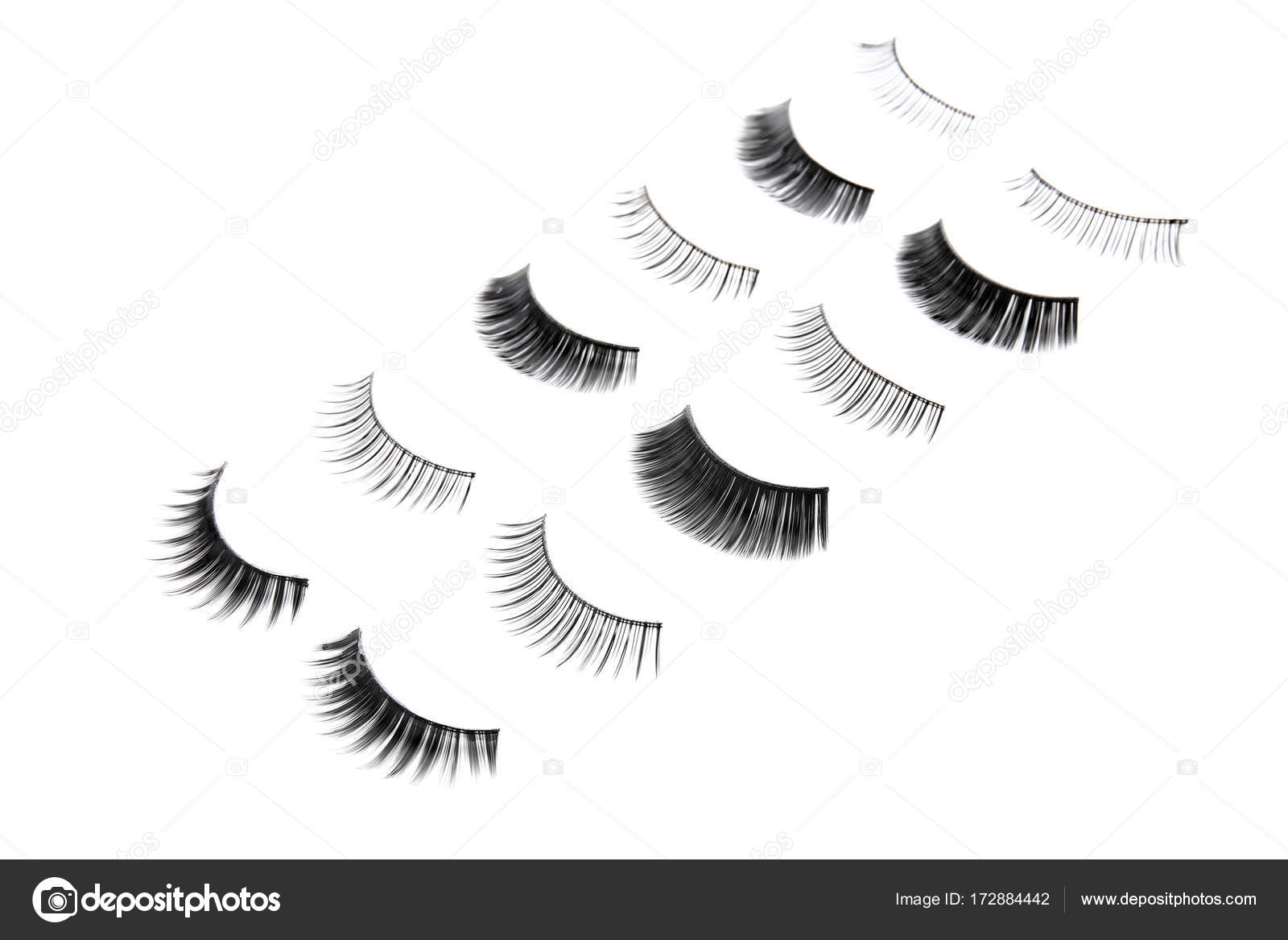 Different Types Of False Eyelashes Stock Photo Belchonock 172884442