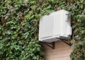 Fotografie Klimaanlage an Wand