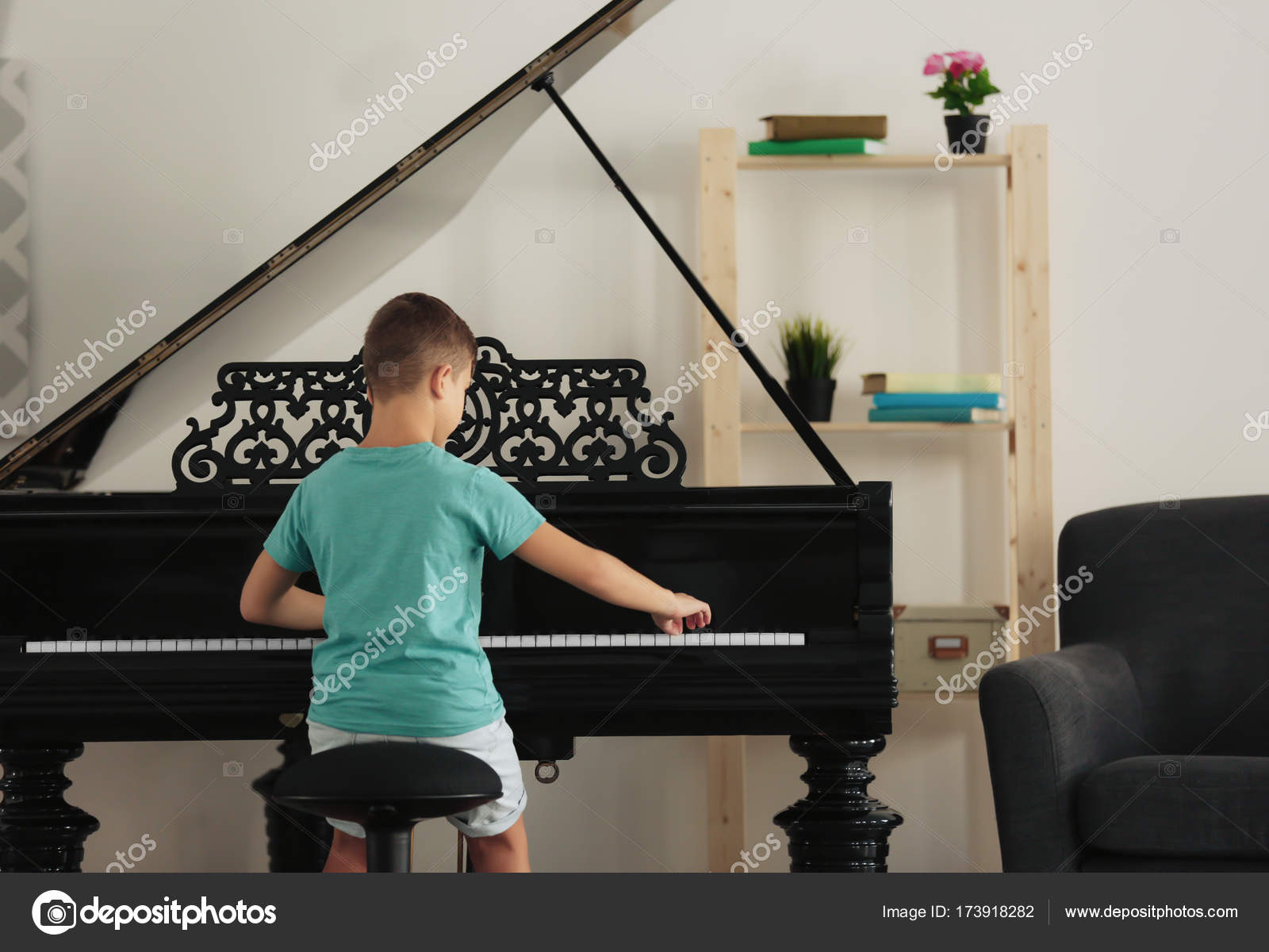 Image result for boy playing the piano