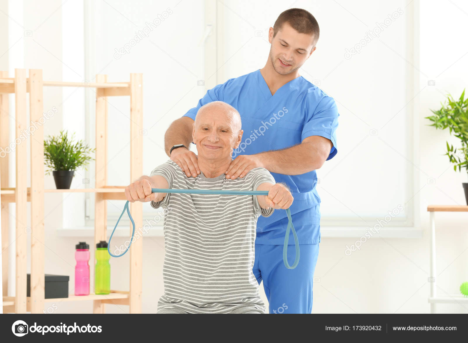 Supervision of an elderly person 2
