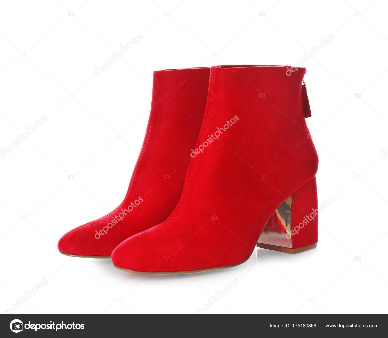 Femme Rouge Femme Femme De Bottes Bottes Bottes Rouge Paire Rouge Paire De De Paire 7YxApqn