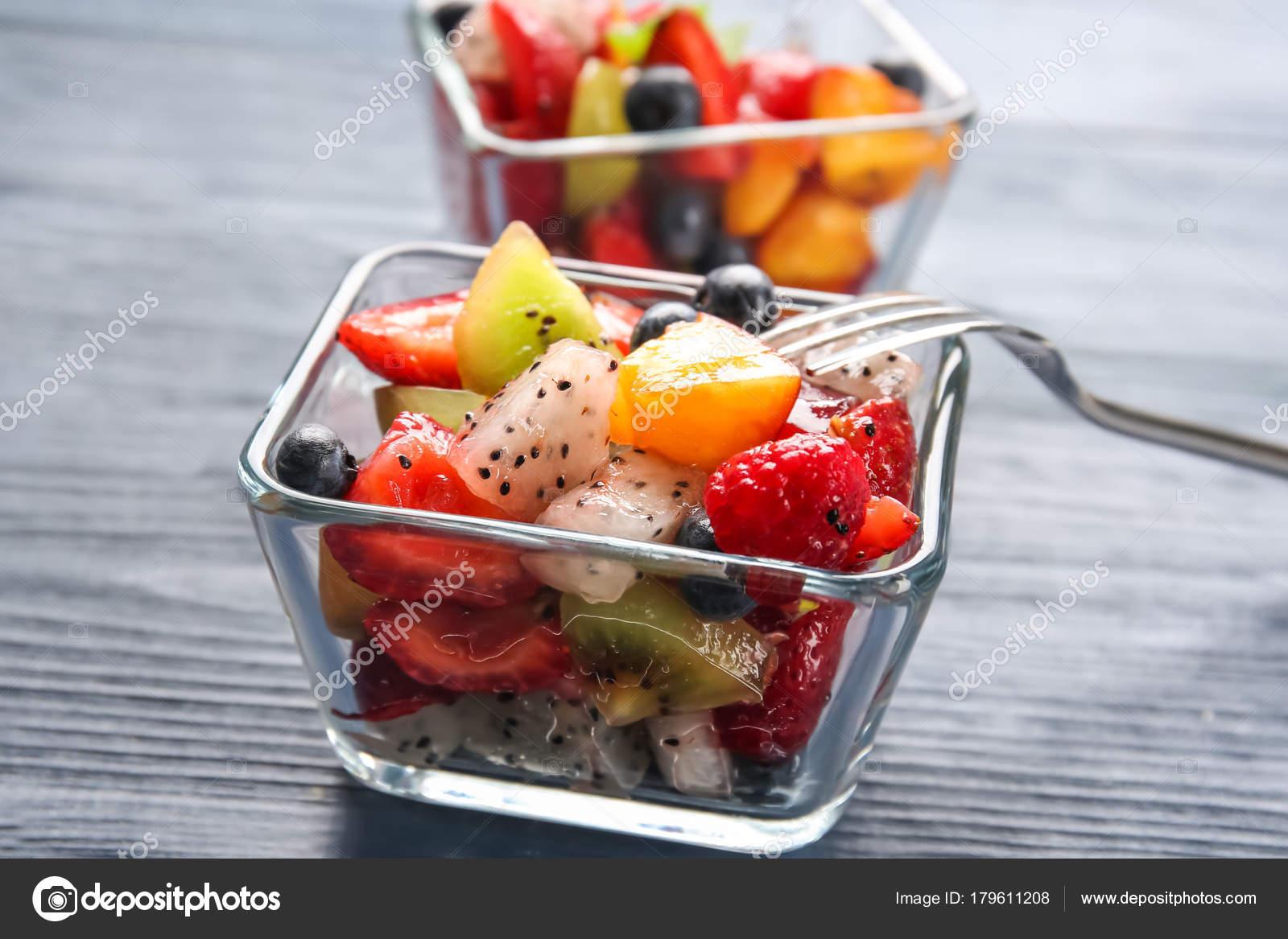 Десерты, Фруктовые салаты