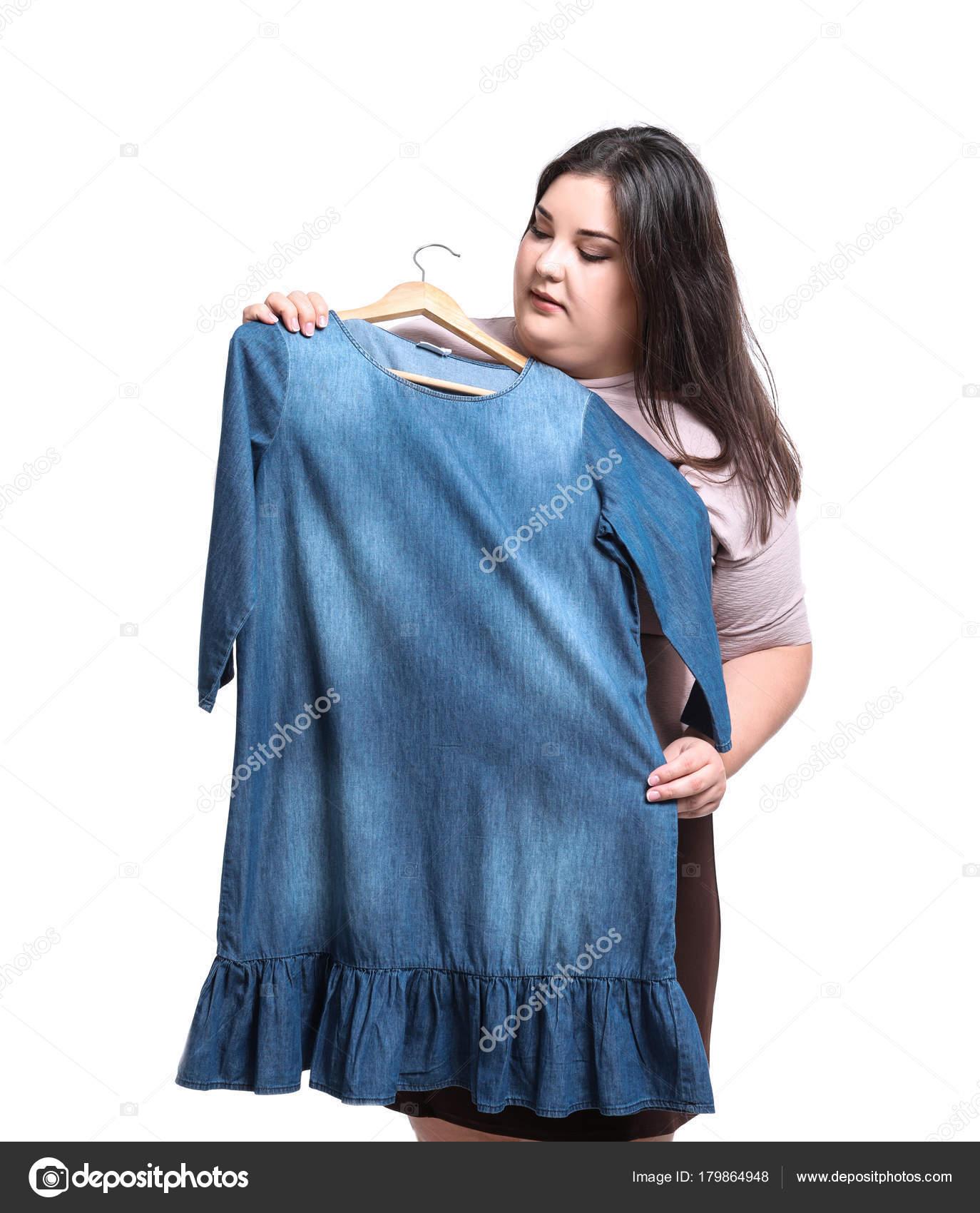 Vestidos de jeans para gordas
