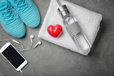 Cardio training concept