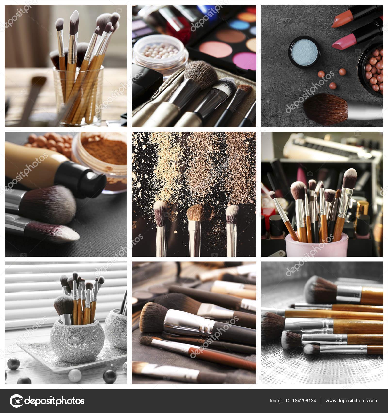 Makeup Artist Set With Tools Stock