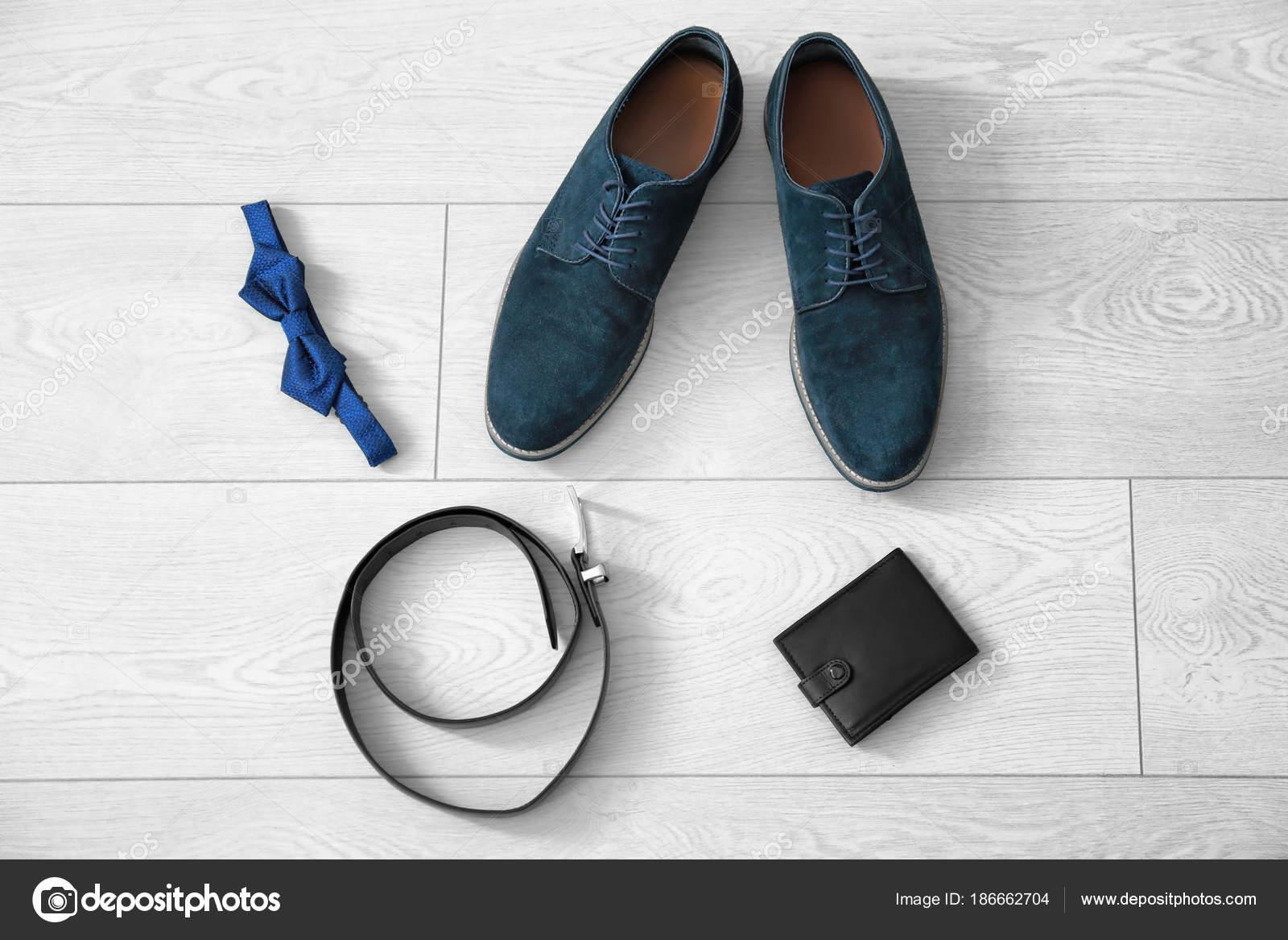 Con — Foto Zapatos Elegantes Planta Composición Hombre De Stock gyvfIY7mb6