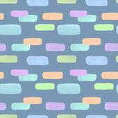 abstrakte geometrische nahtlose Muster mit bunten Klecksen. Vintage-Stil Aquarell Hintergrund auf grau. für Papier, Textilien, Dekoration und Verpackung.