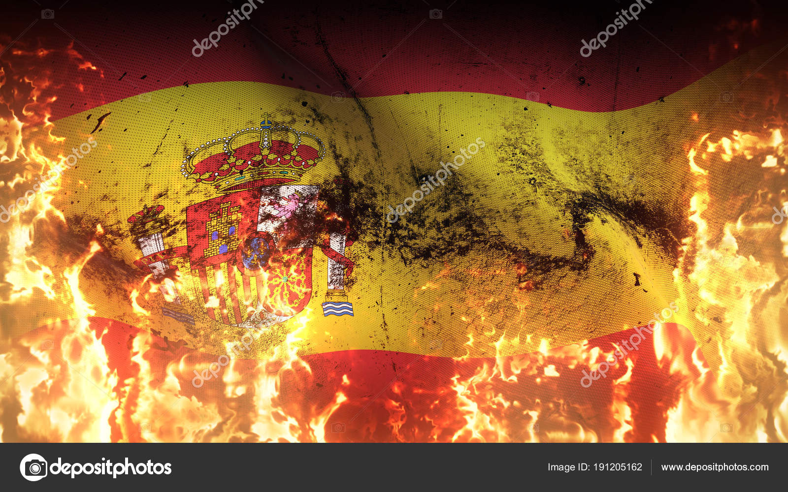 картинки флаг в огне обладает сортами