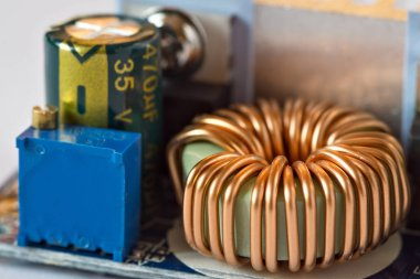 Toroidal inductance coil