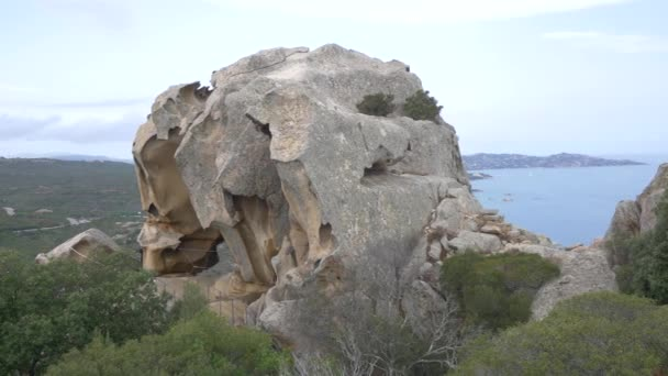 View from Bear rock on Sardinia.