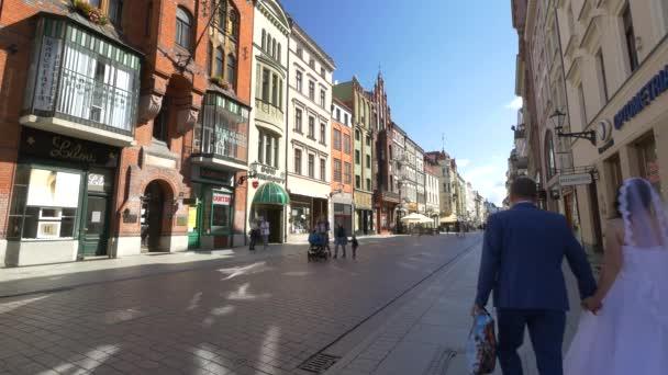 Old town in  Torun.