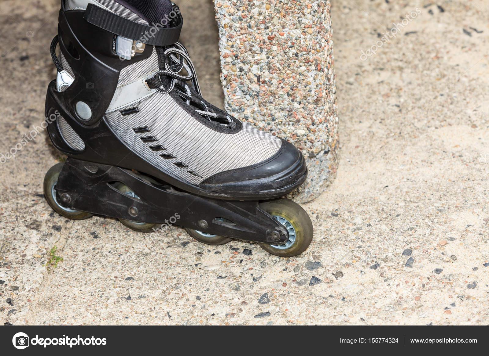 b9ad937afec Closeup of roller skates outdoor. — Stock Photo © Anetlanda #155774324
