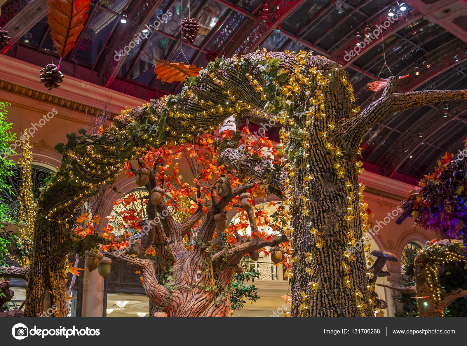 Bellagio Hotel Conservatory & Botanical Gardens – Stock Editorial ...