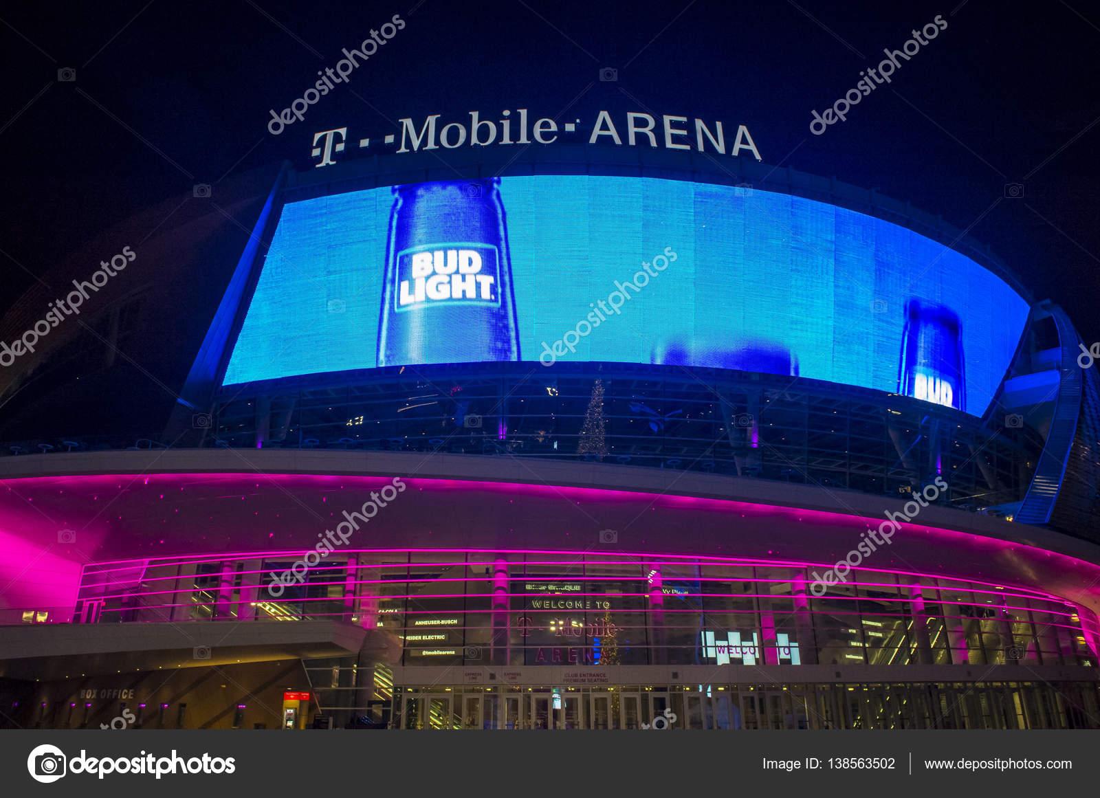 Las Vegas T-Mobile arena – Stock Editorial Photo © kobbydagan #138563502