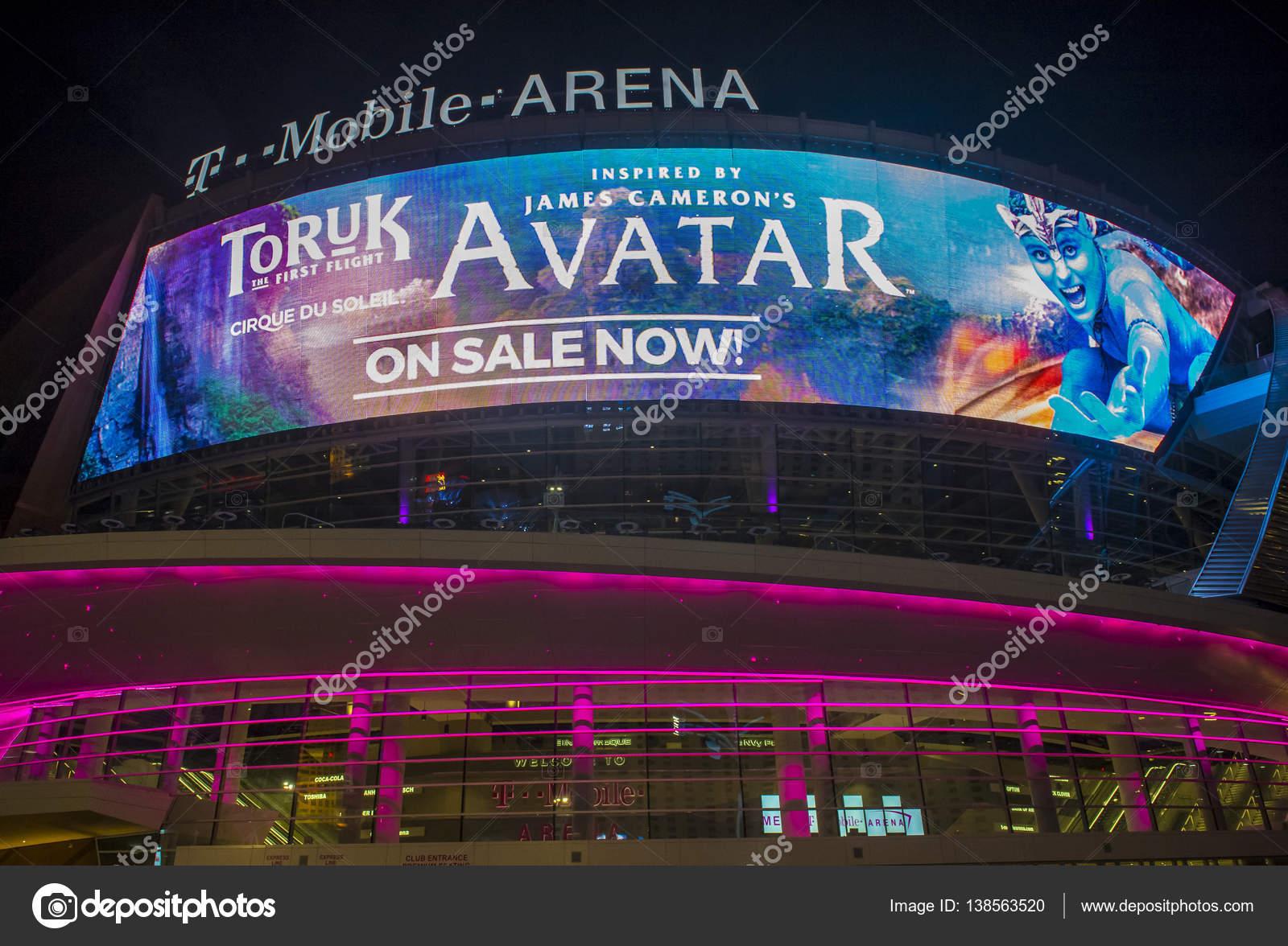 Las Vegas T-Mobile arena – Stock Editorial Photo © kobbydagan #138563520