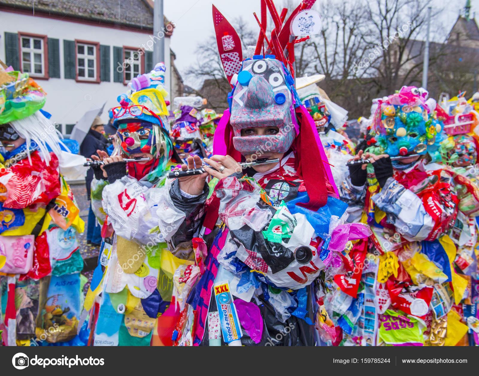 2017 Basler Fasnacht Redaktionelles Stockfoto Kobbydagan 159785244