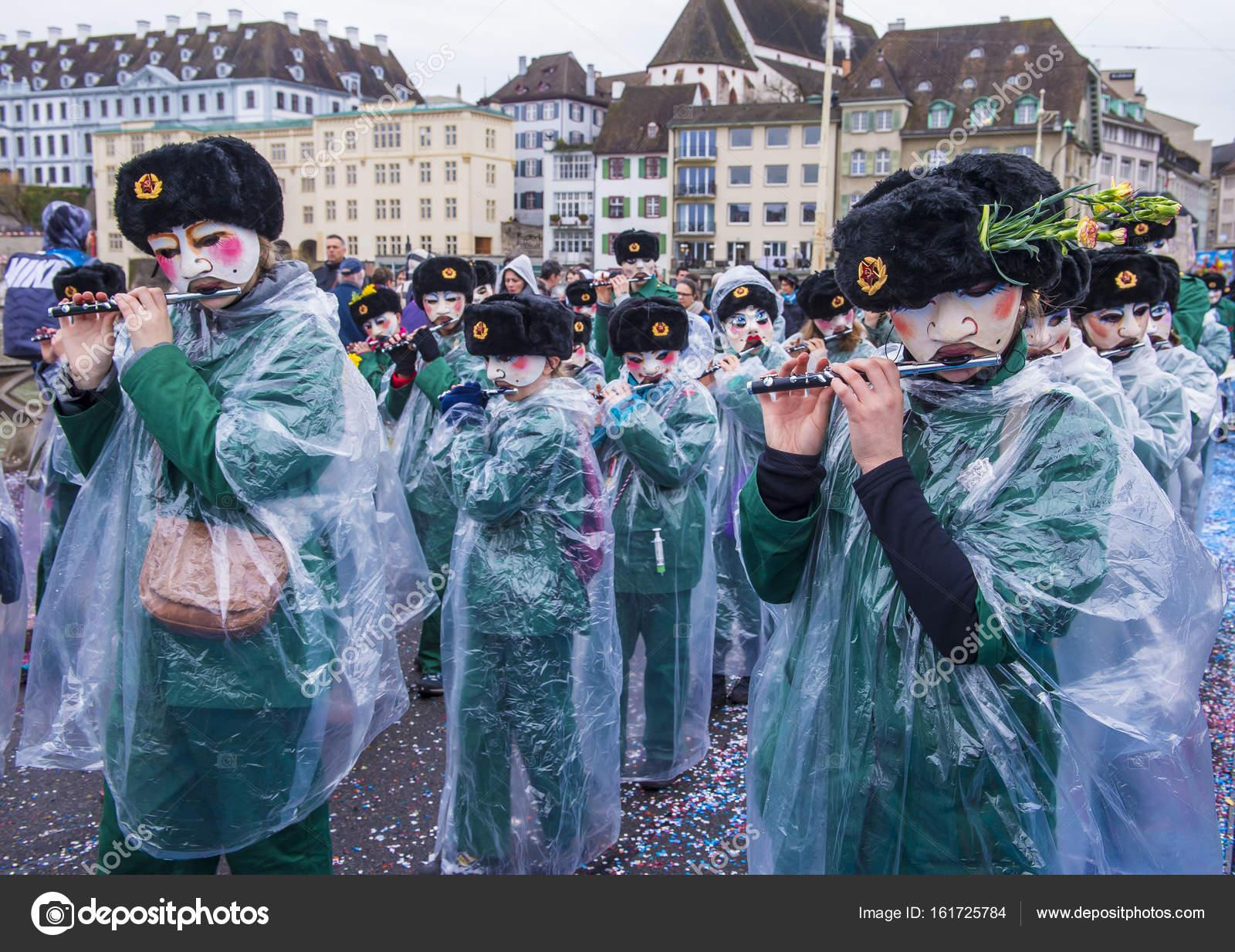 2017 Basler Fasnacht Redaktionelles Stockfoto Kobbydagan 161725784
