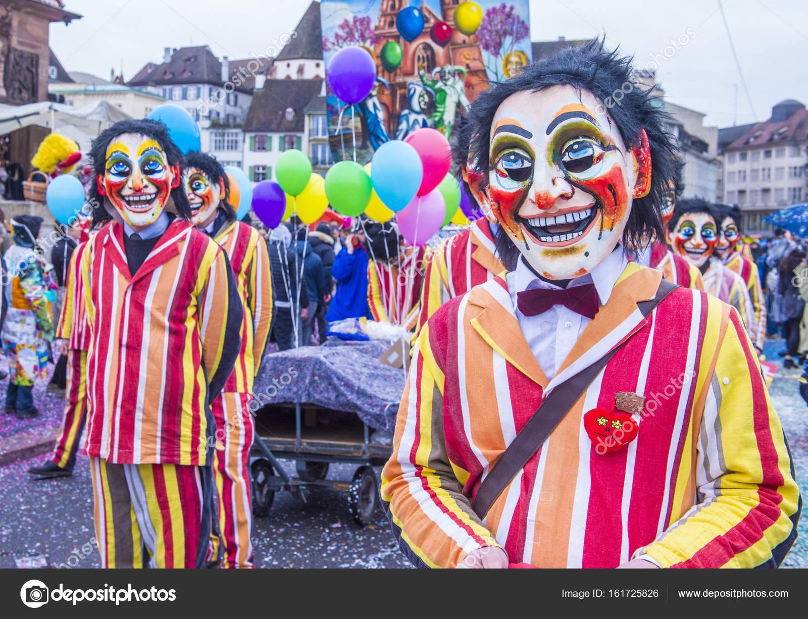 2017 Basler Fasnacht Redaktionelles Stockfoto Kobbydagan 161725826